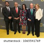 Small photo of New York, NY - Apr 9, 2018: Tim Pastore, Gary Knell, Courteney Monroe, Michael Bloomberg, Katie Couric attend National Geographic presents America Inside Out with Katie Couric at Museum of Modern Art