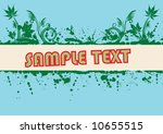 abstract grunge design. vector. | Shutterstock .eps vector #10655515