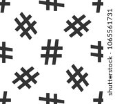 hashtag icon seamless pattern...