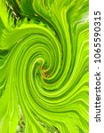 Small photo of green swirl Swirl effect ideal for backgrounds, abstract textures