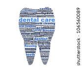 dental care symbol design as a...   Shutterstock . vector #106560089