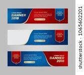 vector design banner web... | Shutterstock .eps vector #1065602201