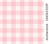 vector seamless pink and white... | Shutterstock .eps vector #1065615239
