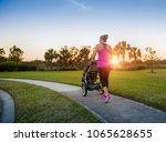 beautiful  fit women walking...   Shutterstock . vector #1065628655