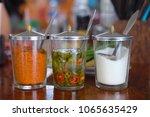 seasoning thai food  cayenne... | Shutterstock . vector #1065635429