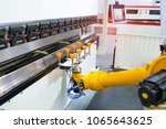 robotic and automation system... | Shutterstock . vector #1065643625