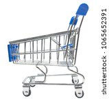 shopping cart  isolated on... | Shutterstock . vector #1065652391