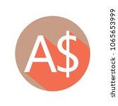 australian dollar currency... | Shutterstock .eps vector #1065653999