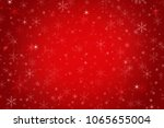 abstract maroon red christmas... | Shutterstock . vector #1065655004