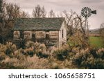 Vintage Western Homestead With...