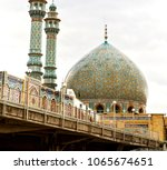 blur in iran  and old antique... | Shutterstock . vector #1065674651