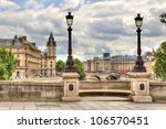 paris cityscape. view from...