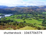 a view of grasmere from the... | Shutterstock . vector #1065706574