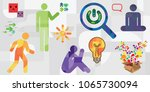 vector illustration of human... | Shutterstock .eps vector #1065730094