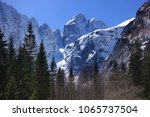 tamar  kranjska gora  slovenia. ... | Shutterstock . vector #1065737504