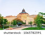 library of congress in... | Shutterstock . vector #1065782591