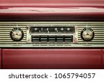 retro styled image of an old... | Shutterstock . vector #1065794057