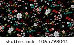 seamless floral pattern in... | Shutterstock .eps vector #1065798041