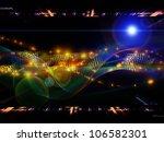 design made of abstract sine... | Shutterstock . vector #106582301