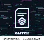 glitch effect. document...