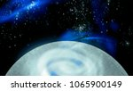 open space  planet and galaxies | Shutterstock . vector #1065900149