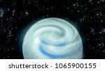 open space  planet and galaxies | Shutterstock . vector #1065900155