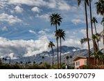 palm springs  usa   february 15 ...   Shutterstock . vector #1065907079