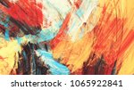 bright artistic splashes.... | Shutterstock . vector #1065922841