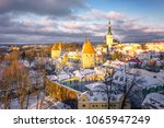 the old city of tallinn  estonia | Shutterstock . vector #1065947249