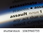 assault word in a dictionary....