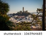 coit tower city of san francisco | Shutterstock . vector #1065964685