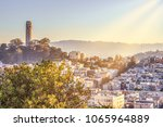 coit tower city of san francisco | Shutterstock . vector #1065964889