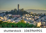 coit tower city of san francisco | Shutterstock . vector #1065964901