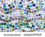 wave mosaic illustration hand... | Shutterstock . vector #1066049909