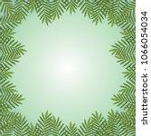 floral decorative border ... | Shutterstock .eps vector #1066054034
