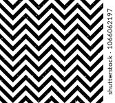 zigzag seamless pattern. black... | Shutterstock . vector #1066062197