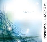 crisscrossed technology... | Shutterstock .eps vector #1066078949