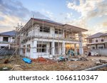 construction residential new... | Shutterstock . vector #1066110347