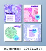 covers with marble texture....   Shutterstock .eps vector #1066112534