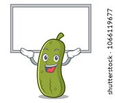 up board pickle character... | Shutterstock .eps vector #1066119677
