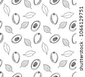 hand drawn doodle sketched... | Shutterstock . vector #1066129751