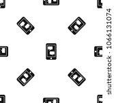 smartphone and speech bubbles... | Shutterstock . vector #1066131074