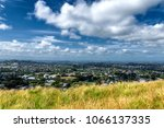 auckland suburbs view from... | Shutterstock . vector #1066137335