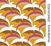 seamless texture with a flock... | Shutterstock . vector #1066141421