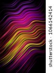 dark multicolor  rainbow... | Shutterstock . vector #1066142414