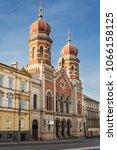 Great Synagogue Of Plzen  Czec...