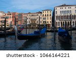 canal grande  grand  venice ... | Shutterstock . vector #1066164221