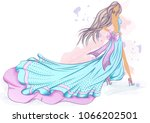 color vector illustration of a... | Shutterstock .eps vector #1066202501
