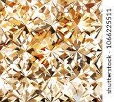 seamless amber diamond pattern  ... | Shutterstock .eps vector #1066225511