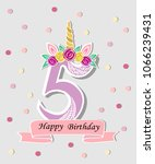vector illustration with number ... | Shutterstock .eps vector #1066239431